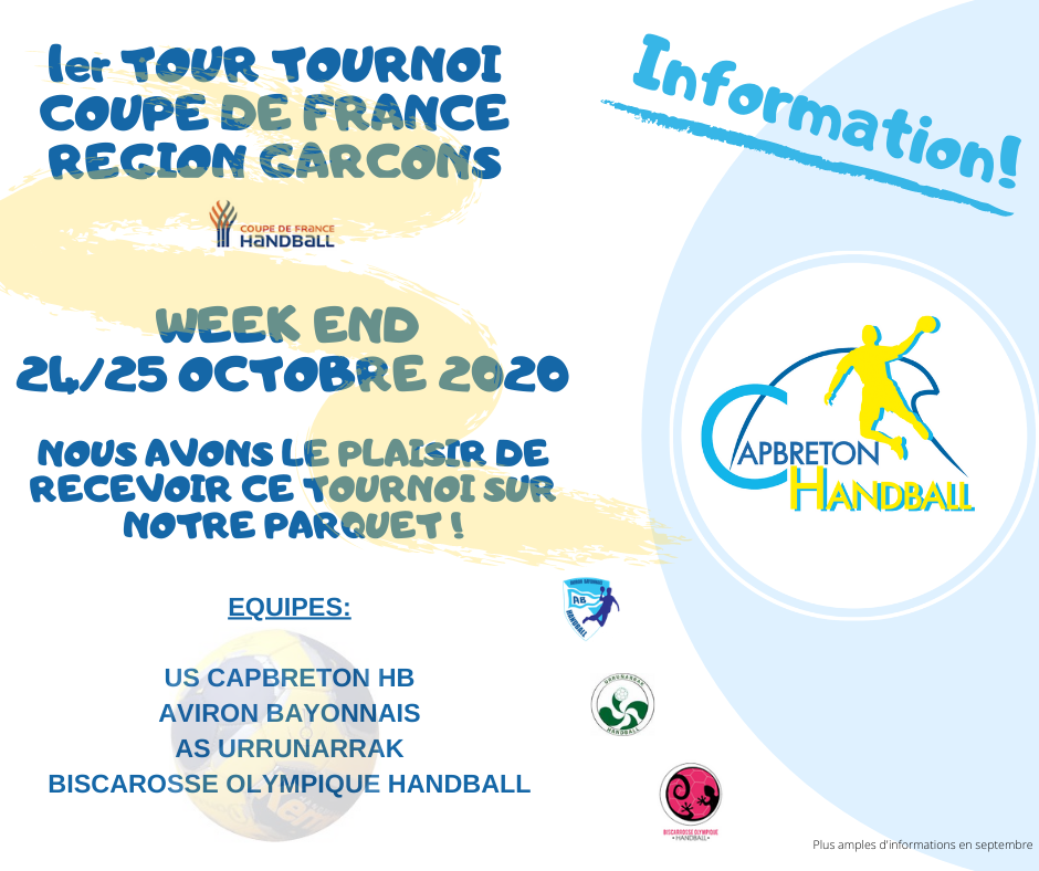 COUPE DE FRANCE REGION SENIORS GARCONS